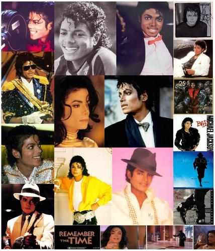 MY MJ collages