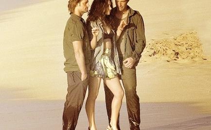 Matthew, Josh and Evangeline