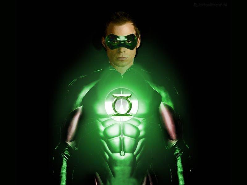 Зелёный фонарь своими руками 705