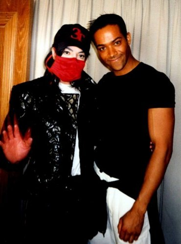 Michael with nephew