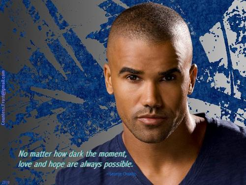 Criminal Minds wallpaper titled Morgan quotes Chakiris