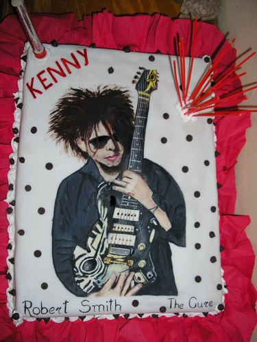 Robert Smith wallpaper entitled My best birthday's cake!