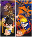 Naruto VS Dragonball Z - naruto photo
