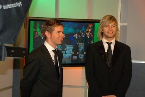 Neil and Keith at Blue Ridge PBS promo