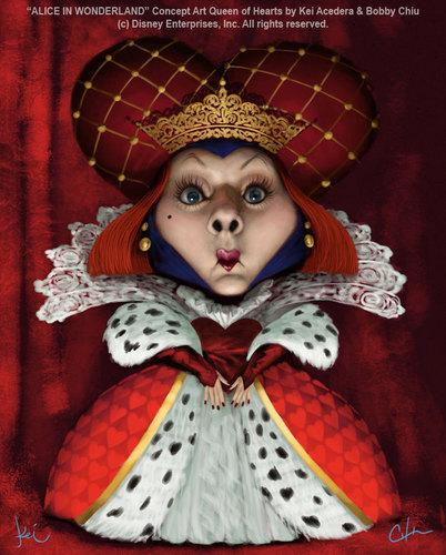 Alice in Wonderland (2010) wallpaper called Older Concept Art
