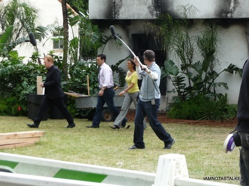 "On The Set of ""CSI: Miami"" from 5th March"