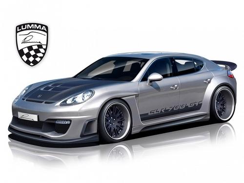 PORSCHE PANAMERA CLR 700 GT 의해 LUMMA 디자인