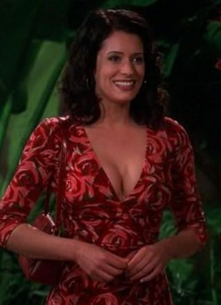 Paget Brewster as Jamie in Two and a Half Men