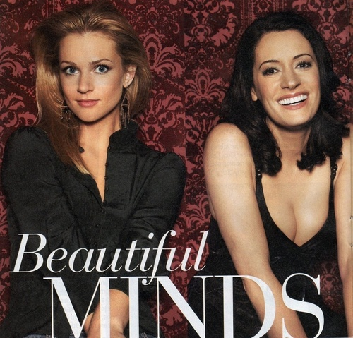 Paget and AJ as Emily and JJ