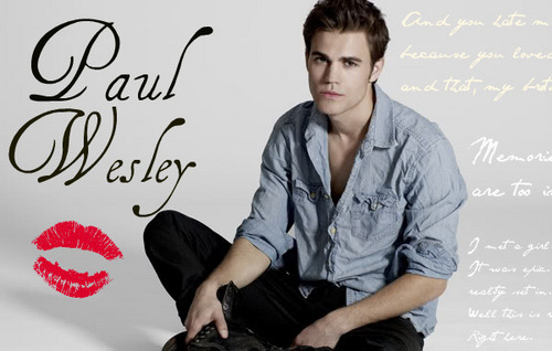 Paul Wesley &lt;3 - paul-wesley Fan Art