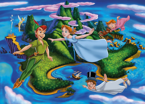 Peter Pan Wallpaper