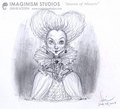 Queen of Hearts/Red Queen Concept Art 2 - alice-in-wonderland-2010 photo