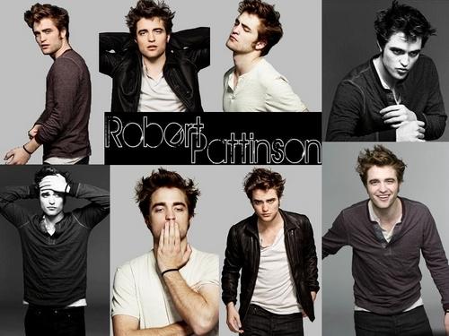 Robert Pattinson Hintergrund titled RPattz EW Hintergrund
