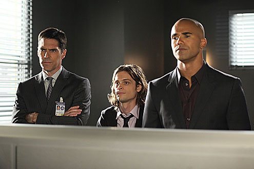 Reid, morgan and Hotch