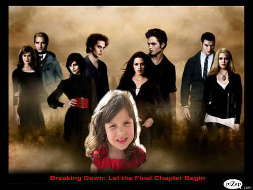 Renesmee and the Cullen's