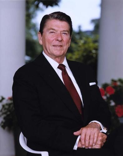 U.S. Republican Party 壁纸 titled Ronald Reagan