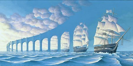 Sail boats または arches????