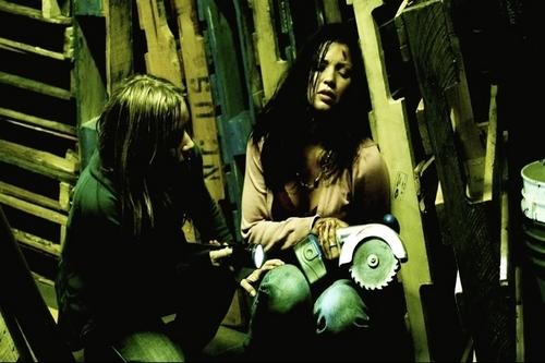 Sandra in House of Fears