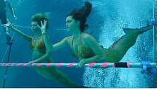 Season 3 underwater swimming