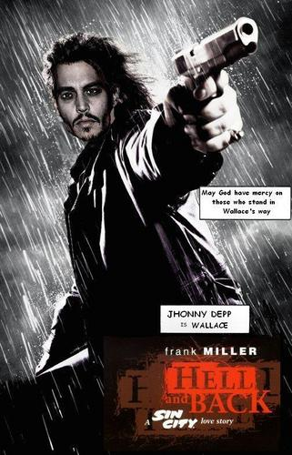 Sin City 2 Jhonny Depp as Wallace - batman Fan Art