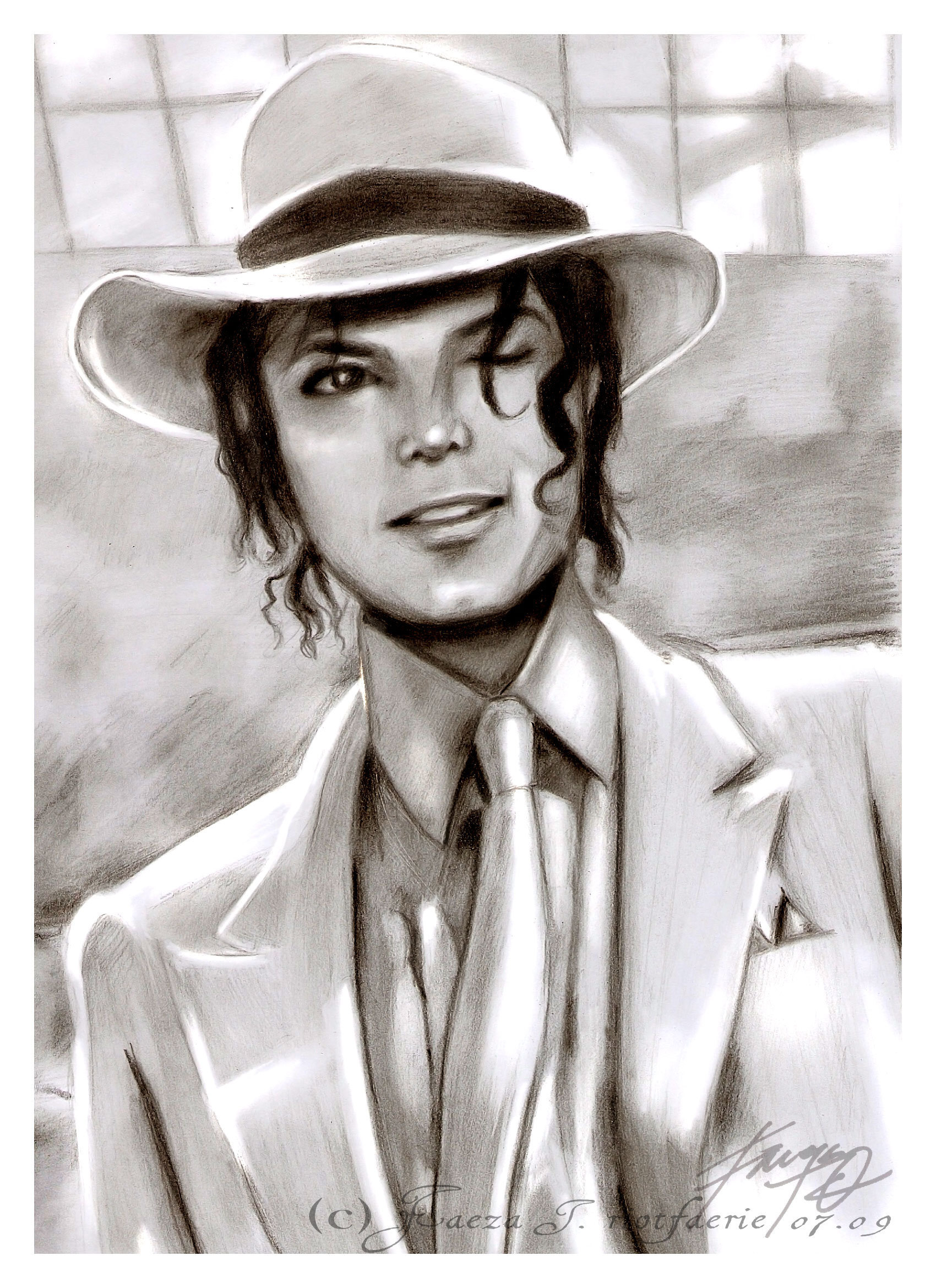 michael jackson sketch smooth - photo #33