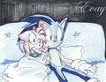 Sonamy Scary Movie Night - sonic-and-amy photo