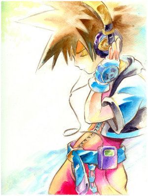Kingdom Hearts پیپر وال entitled Sora