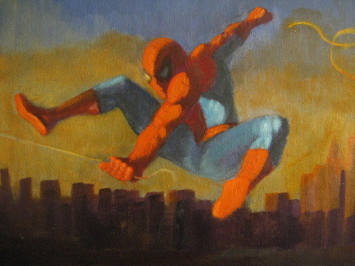 Spider-Man Swinging Home - spider-man Fan Art