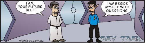étoile, star Trek 11 Cartoon