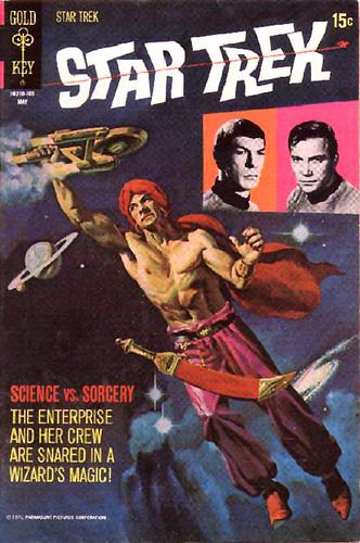 estrella Trek Comics