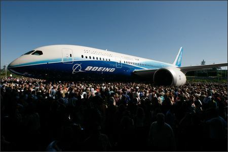 Air Travel wallpaper entitled The 787