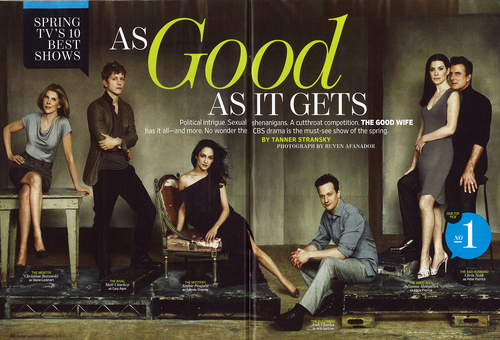 The Good Wife wallpaper called The Good Wife - Entertainment Weekly Spread