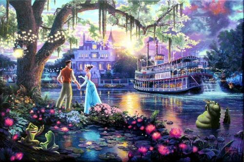 The Princess and the frog - disney-princess Fan Art