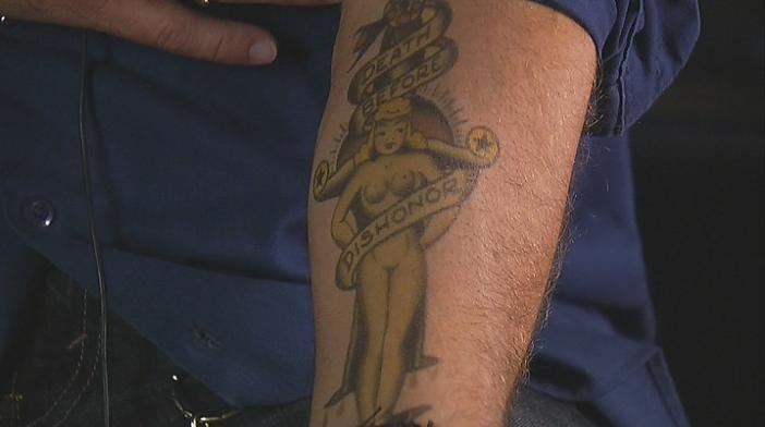 Tig's tattoo