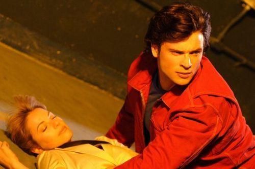 Tom & Erica On Set <3