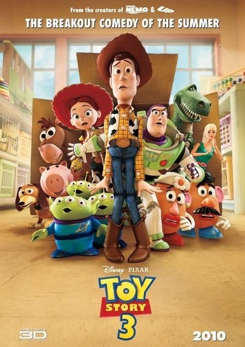 películas animadas fondo de pantalla called Toy Story 3 International Poster