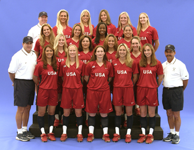 USA softball team