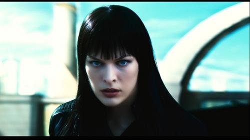 Milla Jovovich karatasi la kupamba ukuta entitled Ultraviolet