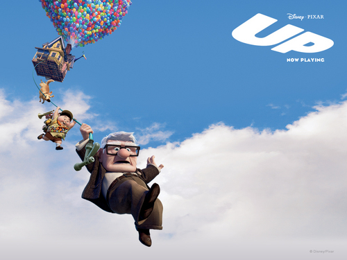 Pixar fond d'écran entitled Up