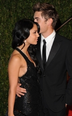 Vanessa & Zac @ 2010 Oscars AfterParty