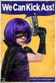 Vintage Hit-Girl Poster