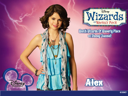 WIZARDS OF WAVERLY PLACE -SELENA GOMEZ PROMOTIONAL XCLUSIVE پیپر وال