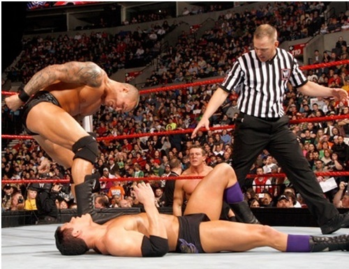 wwe Raw 8th of March 2010