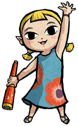Aryll - Link's Sister