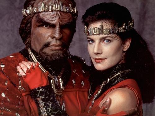 Worf & Jadzia