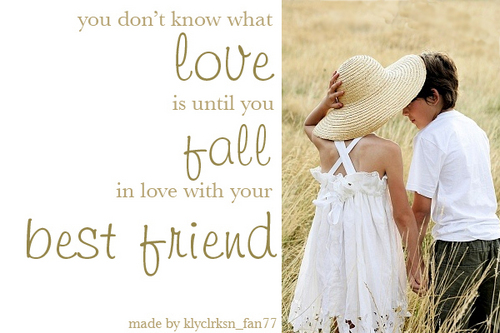 Having a Best Friend wallpaper titled You Don't Know What Love Is...