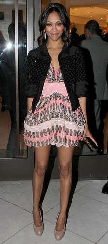 Zoe at Louis Vuitton Soiree