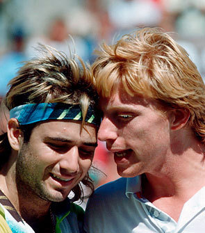 agassi and becker