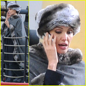 angelina filming salt