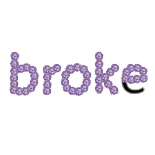 Polyvore wallpaper titled broke